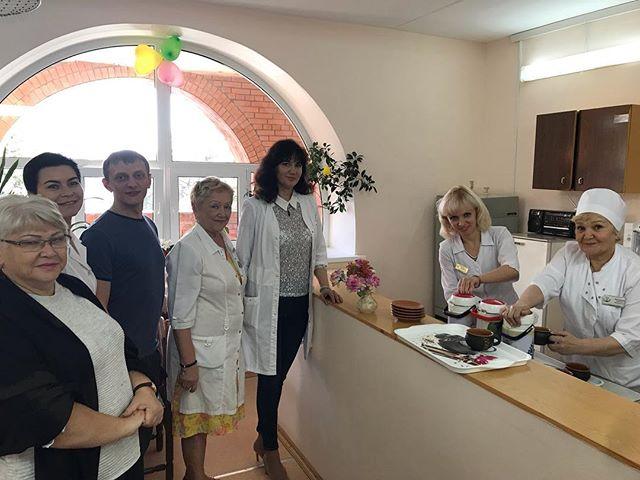 Для непосредственной близости к нашим пациентам мы открыли фито-бар в новом помещении неврологического корпуса (3 этаж). #уокгвв #медицина73 #ульяновск #госпитальветерановвойн #ulsk
